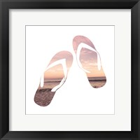 Framed Sandy Sandals