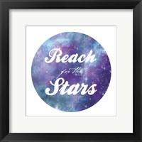 Framed Reach For The Stars 1