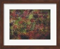 Framed Oriental Moss 1