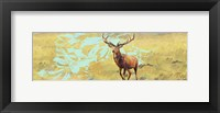 Framed Stag With Magnolia