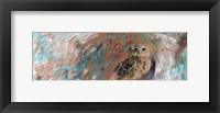 Framed Owl Panel