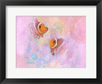 Framed Clownfish Pair