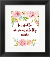 Framed Fearfully & Wonderfully Made