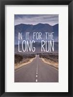 Framed For The Long Run