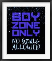 Framed Boy Zone-Sparkle