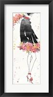 Framed Floral Fashion IV