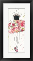 Framed Floral Fashion II