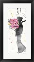 Framed Floral Fashion III