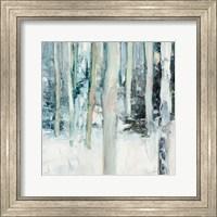 Framed Winter Woods I