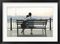 Framed Parisian Afternoon
