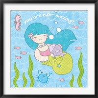 Framed Magical Mermaid II