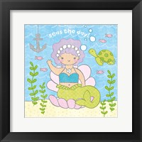 Framed Magical Mermaid III
