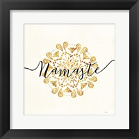 Framed Namaste I