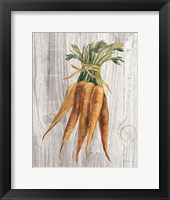 Framed Market Vegetables I