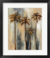 Framed Palm Trees II