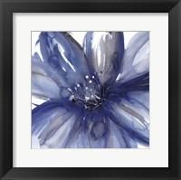 Framed Blue Beauty I