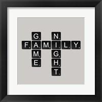 Framed Game Night - Black