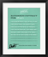 Framed Bathroom Contract