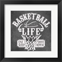 Framed Basketball Life