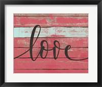 Framed Love Script