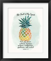 Framed Fruit Spirit