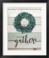 Framed Gather Wreath II