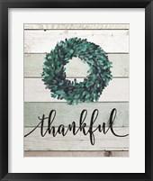 Framed Thankful Wreath II