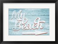 Framed My Beach