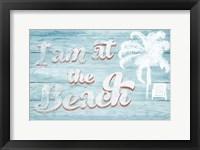 Framed I Am at the Beach