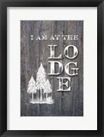 Framed I Am at the Lodge