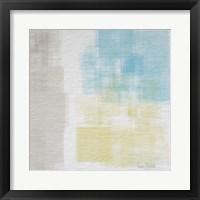 Framed White Abstract I