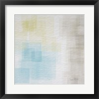 Framed White Abstract II