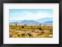 Framed Utah Desert II