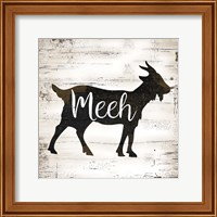 Framed Farmhouse Goat