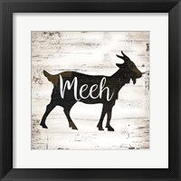 Farmhouse Goat Framed Print