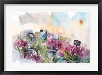 Framed Farmer's Market Flowers
