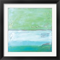 Framed Sea Glass VI