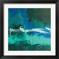 Framed Wispy Waves II