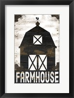 Farmhouse Barn Framed Print
