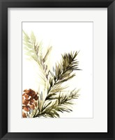 Framed Pine Leaves