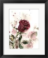 Framed Single Rose