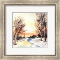 Framed Winter Walkway
