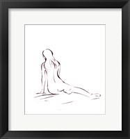 Outlines II Framed Print