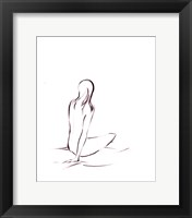 Outlines III Framed Print