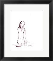Outlines IV Framed Print