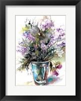 Framed Lavender Still Life