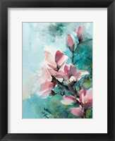 Framed Pink and Pink and Blue