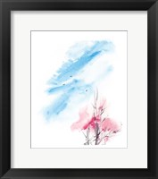 Framed Cherry Tree III