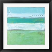 Framed Sea Glass IV