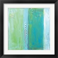Framed Sea Glass VII
